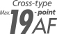 19-bodový systém automatického zaostrovania